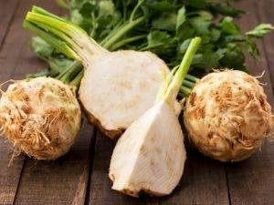 Sedano rapa: una bomba di nutrienti